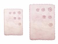 BLOSSOMS PEMBE (розовый) Коврик для ванной