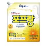 Кондиционер для белья Popran Цветение персика 2,1л (запаска)