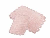 MINA Pembe (розовый) Коврик для ванной