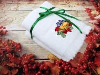 Новогодний набор полотенец Колокольчики