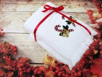 Новогодний набор полотенец Сладости