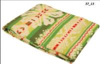 Одеяло Хлопок100% арт.37-13 (зеленые лубны)