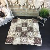 Подушка для стула пэчворк дизайн 25