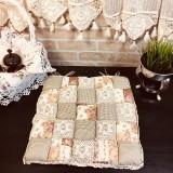 Подушка для стула пэчворк дизайн 9