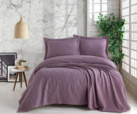 Покрывало FOREST цвет фиолетовый (Purple)