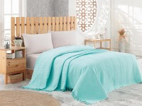 Покрывало NICE BED SPREAD цвет бирюзовый (TURQUOISE/Aqva)