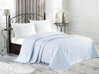 Покрывало NICE BED SPREAD цвет светло-голубой (Light BLUE)