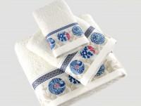 Полотенце с печатью Ethnic Mavi (голубой)