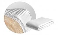 Простынь АкваСтоп Махра на резинке160гр/м2 борт микрофибра