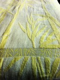 Простынь махровая бамбук (лимонный)