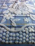 Простынь махровая хлопок (голубой)