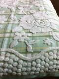 Простынь махровая хлопок (салатовый)