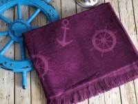 SEASIDE Mor (фиолетовый) полотенце пляжное
