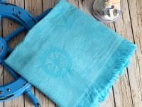 SEASIDE Turkuaz (голубой) полотенце пляжное