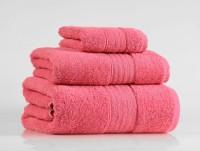 Shalla полотенца Coral (коралловый) набор 3шт