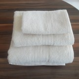 Shalla полотенца Ecru (молочный) набор 3шт