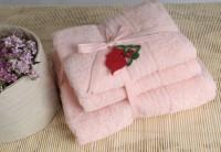 Shalla полотенца Somon (св. розовый) набор 3шт