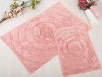 WAVES Pembe (розовый) Коврик для ванной